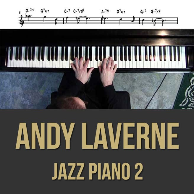 Andy LaVerne (Piano) -Videos 1, 2, 3 & PDF