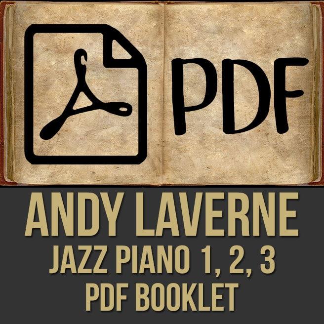 Andy LaVerne (Piano) -Videos 1, 2, 3 & PDF
