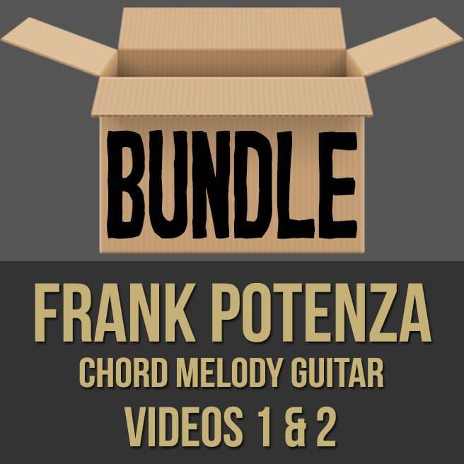 Frank Potenza Chord Melody Guitar Videos 1 2 Pdf Bundle My