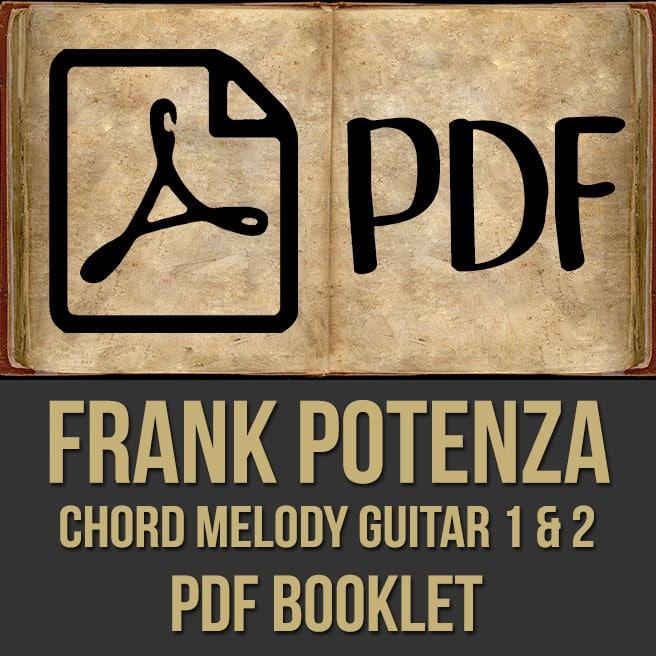 Frank Potenza Chord Melody Guitar Pdf My Music Masterclass