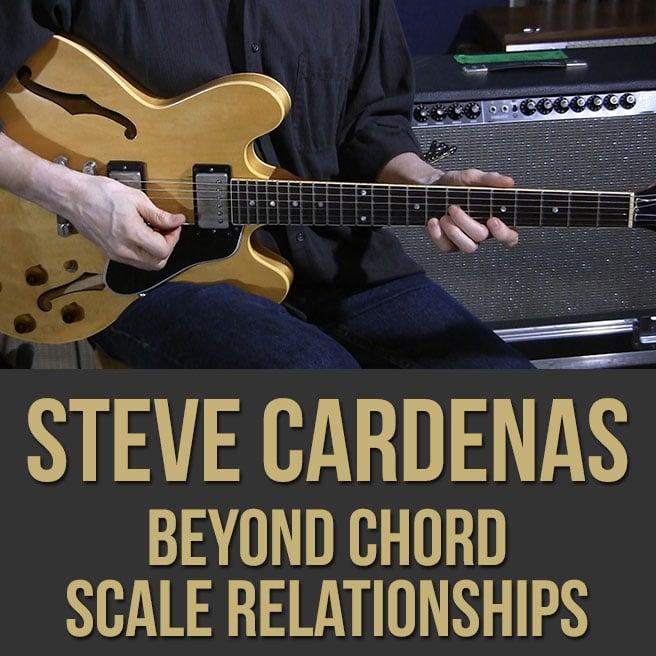 Steve Cardenas - Jazz Guitar Lesson (2) - Beyond Chord-Scale