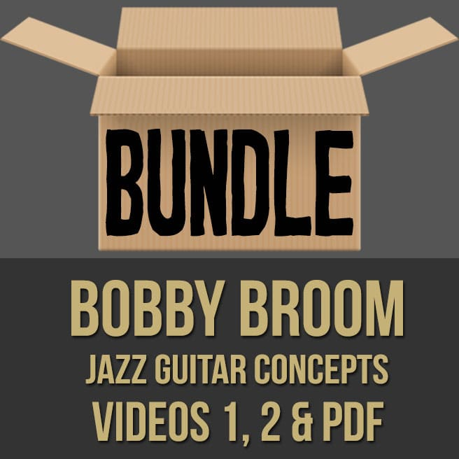 Bobby Broom (Jazz Guitar Concepts) - BUNDLE
